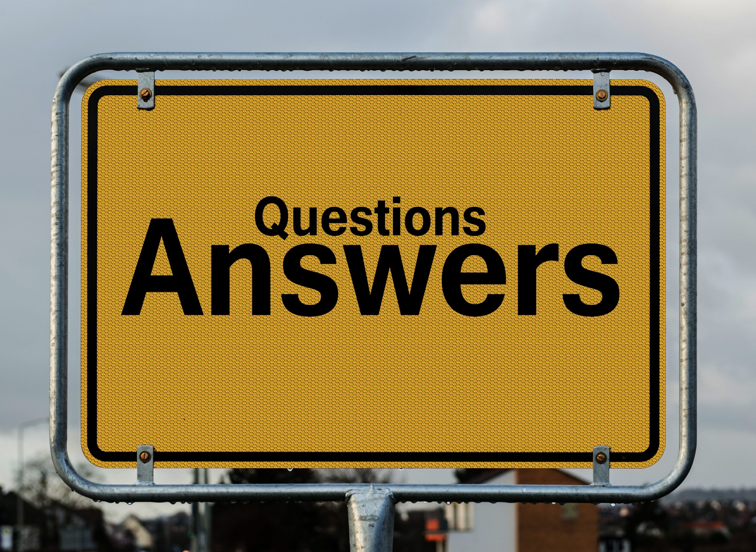 Why the right questions are key